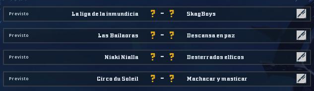 Campeonato Piel de Minotauro 11 - Grupo 3 - Jornada 3 hasta el 08 de Noviembre Campeo18