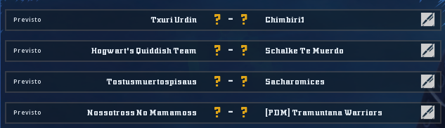Campeonato Piel de Minotauro 11 - Grupo 4 - Jornada 4 hasta el 15 de Noviembre Campeo23