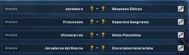 Campeonato Piel de Minotauro 11 - Grupo 1 - Jornada 5 hasta el 22 de Noviembre Campeo24