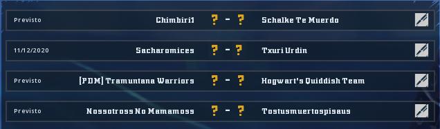 Campeonato Piel de Minotauro 11 - Grupo 4 - Jornada 5 hasta el 22 de Noviembre Campeo26