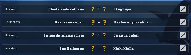 Campeonato Piel de Minotauro 11 - Grupo 3 - Jornada 6 hasta el 29 de Noviembre Campeo29