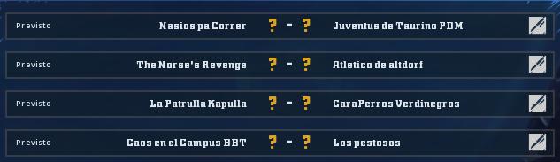 Campeonato Piel de Minotauro 11 - Grupo 2 - Jornada 7 hasta el 06 de Diciembre Campeo31