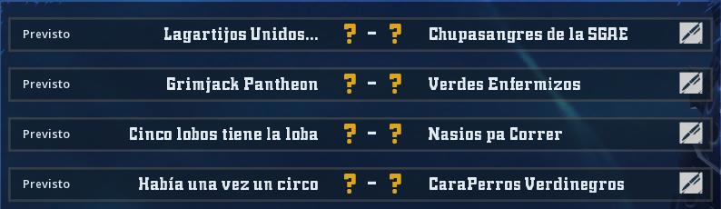 Campeonato Piel de Minotauro 12 - Grupo 4 - Jornada 2 hasta el 02 de Mayo Campeo51