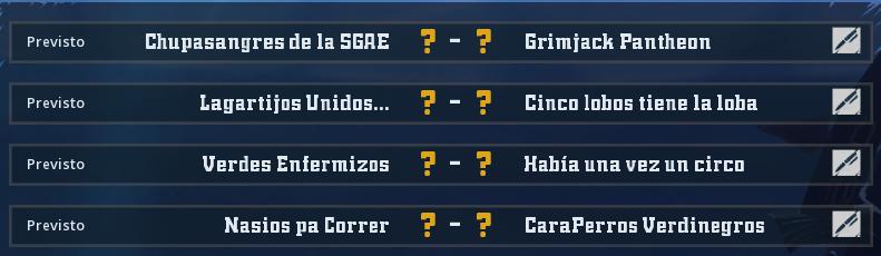 Campeonato Piel de Minotauro 12 - Grupo 4 - Jornada 3 hasta el 09 de Mayo Campeo55