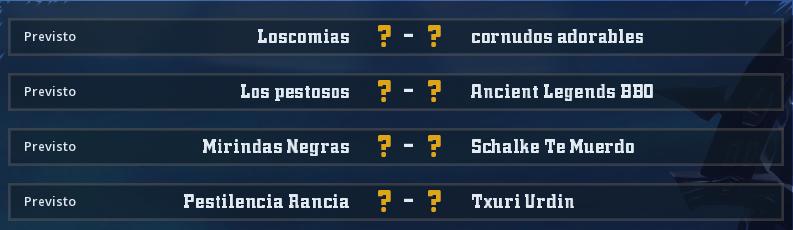 Campeonato Piel de Minotauro 12 - Grupo 1 - Jornada 4 hasta el 16 de Mayo Campeo57