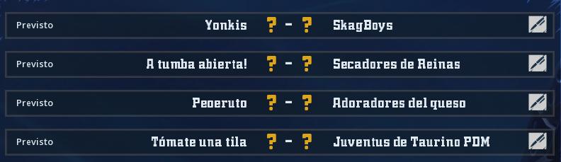 Campeonato Piel de Minotauro 12 - Grupo 3 - Jornada 5 hasta el 23 de Mayo Campeo64