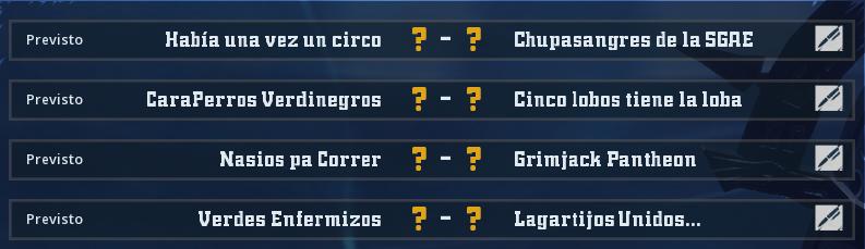 Campeonato Piel de Minotauro 12 - Grupo 4 - Jornada 5 hasta el 23 de Mayo Campeo65