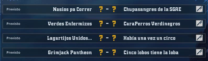 Campeonato Piel de Minotauro 12 - Grupo 4 - Jornada 6 hasta el 30 de Mayo Campeo71
