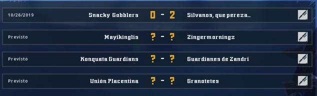 Campeonato Piel de Minotauro 9 - Grupo 1 / Jornada 4 - hasta el domingo 03 de Noviembre Grupo_11