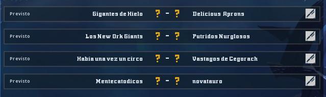 Campeonato Piel de Minotauro 9 - Grupo 2 / Jornada 6 - hasta el domingo 17 de Noviembre Grupo_15