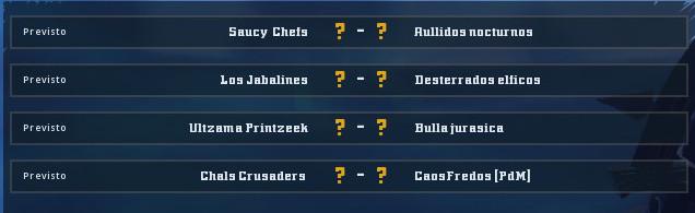 Campeonato Piel de Minotauro 9 - Grupo 3 / Jornada 6 - hasta el domingo 17 de Noviembre Grupo_16