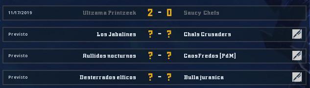 Campeonato Piel de Minotauro 9 - Grupo 3 / Jornada 7 - hasta el domingo 24 de Noviembre Grupo_20