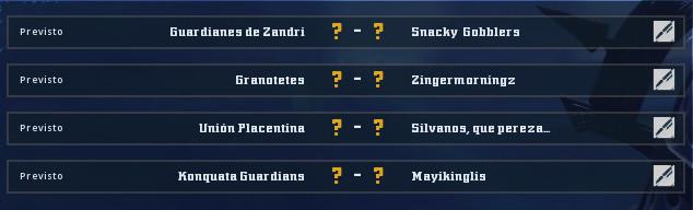 Campeonato Piel de Minotauro 9 - Grupo 1 / Jornada 2 - hasta el domingo 20 de octubre Jornad12