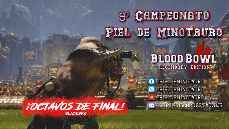 Campeonato Piel de Minotauro 9 - Playoff Octavos de final - hasta el domingo 8 de Diciembre Octavo10