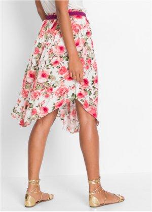 Où trouver une jupe mi-longue fleurie, légère, printanière ? 17044410