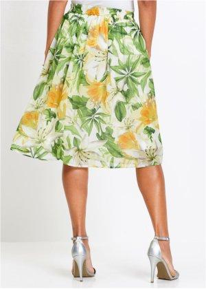 Où trouver une jupe mi-longue fleurie, légère, printanière ? 18068310