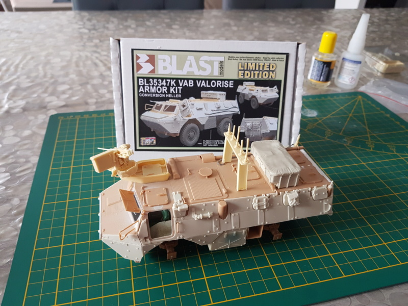 Vab TOP  au 1/35 (Blast Models) 20181132
