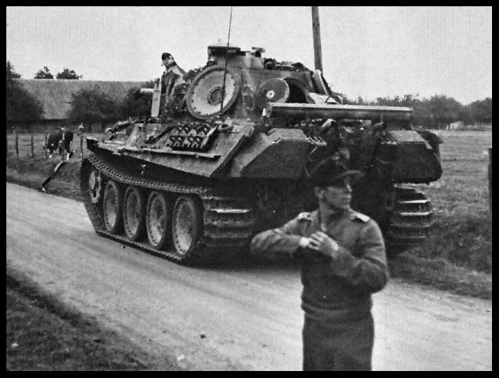 Eté 1944 un Panther  en Normandie -Tamiya- Verlinden- 1/35 45569210