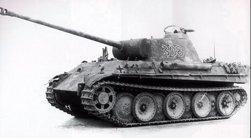 Eté 1944 un Panther  en Normandie -Tamiya- Verlinden- 1/35 45569211