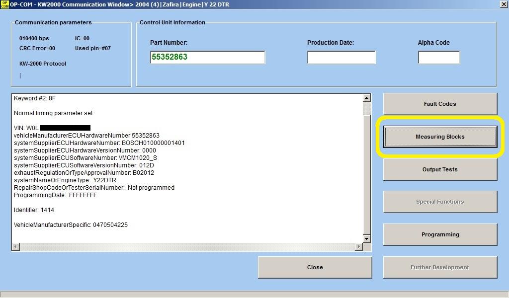 Zafira 1.9CDTI 120cv - Perte de puissance  610