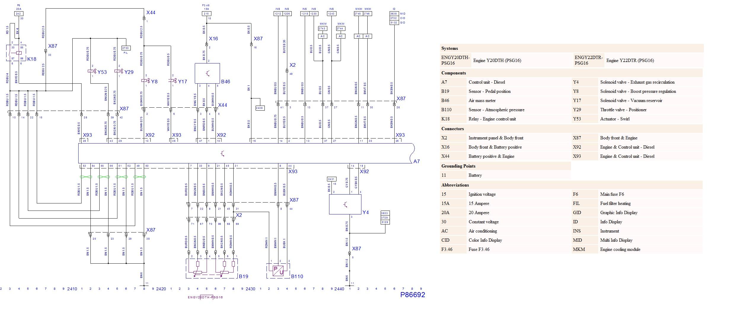 Recherche de schéma électrique calculateur Schzom23