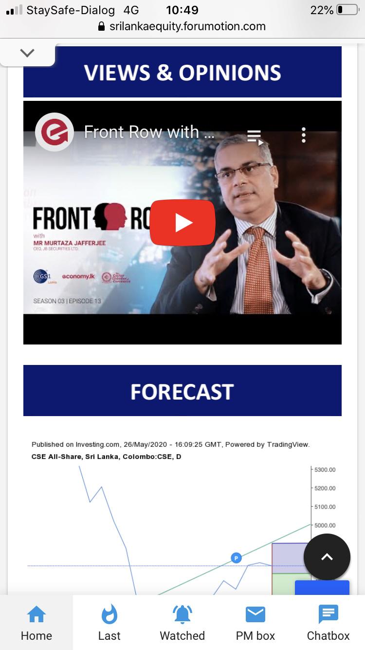 Sri Lanka Equity new Mobile Interface 3c9d2410