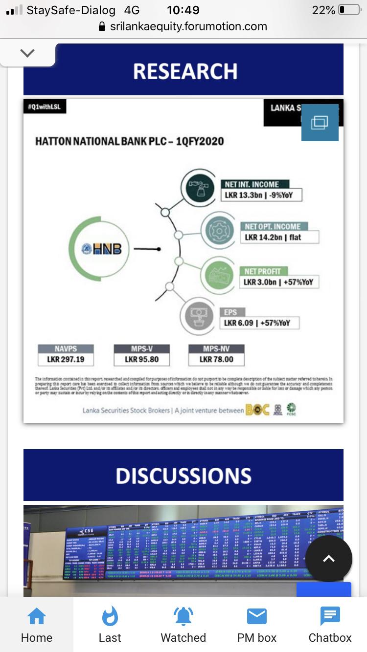 Sri Lanka Equity new Mobile Interface 92866910