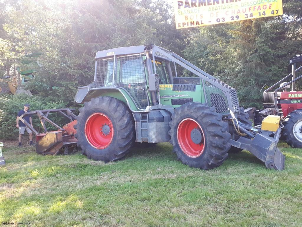 Tracteurs agricoles équipées forestier 20180728