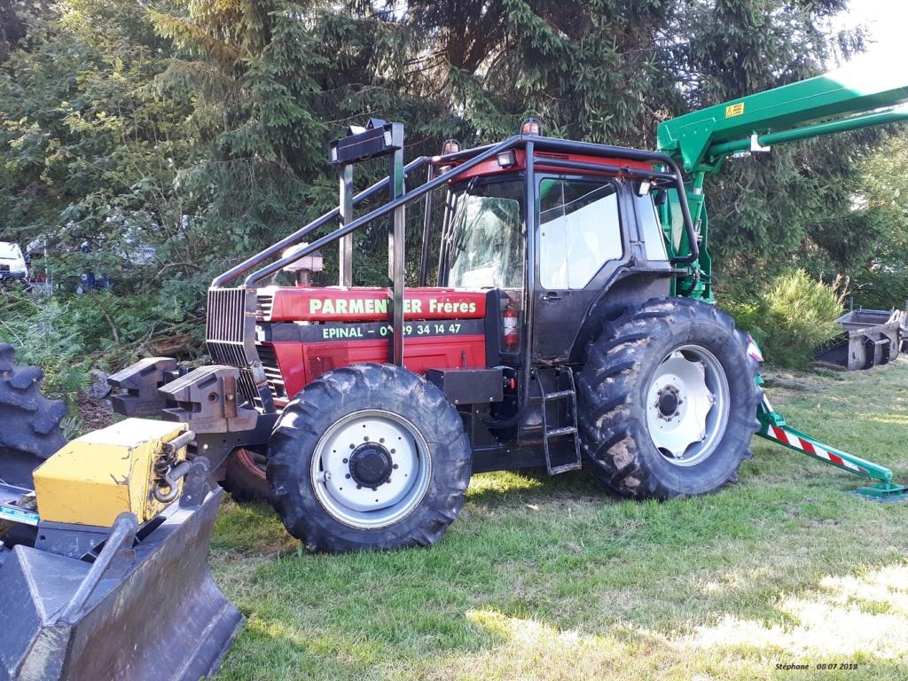 Tracteurs agricoles équipées forestier 20180729