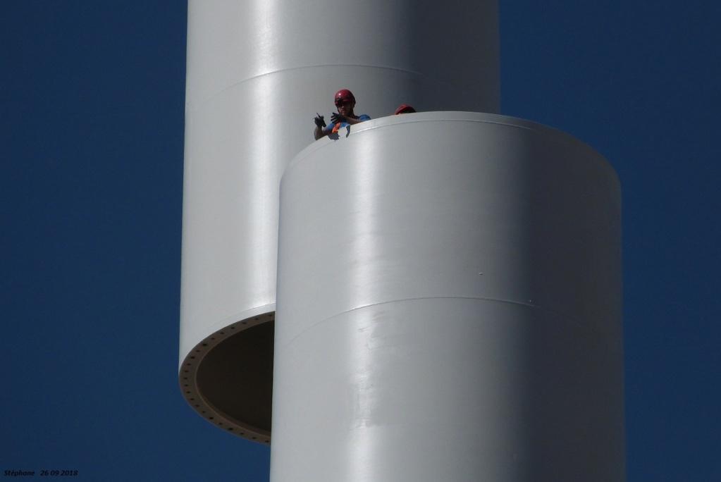 Parc éolien des Monts en construction (St Benoit sur Seine) P1440224