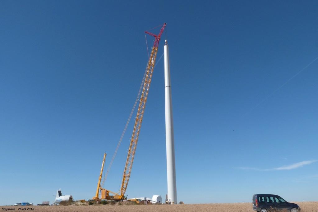 Parc éolien des Monts en construction (St Benoit sur Seine) - Page 2 P1440227