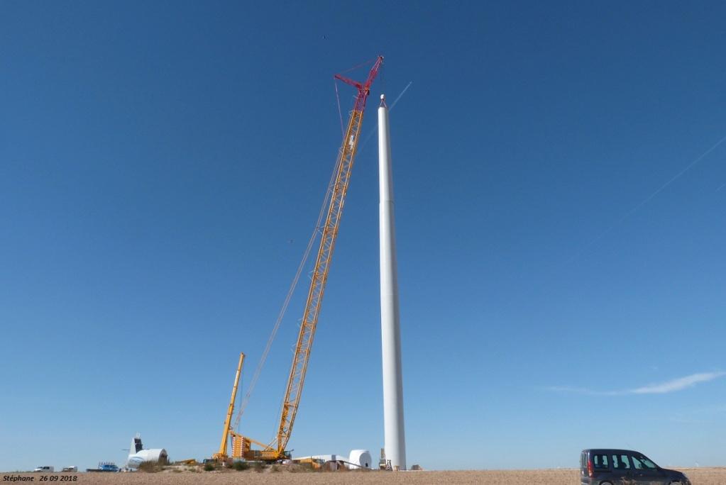 Parc éolien des Monts en construction (St Benoit sur Seine) - Page 2 P1440228