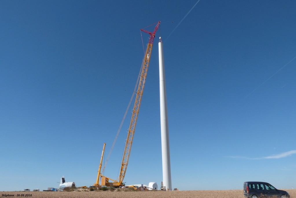 Parc éolien des Monts en construction (St Benoit sur Seine) - Page 2 P1440229