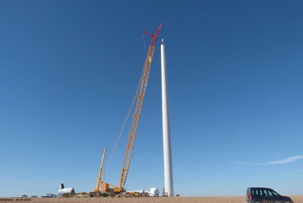 Parc éolien des Monts en construction (St Benoit sur Seine) - Page 2 P1440230