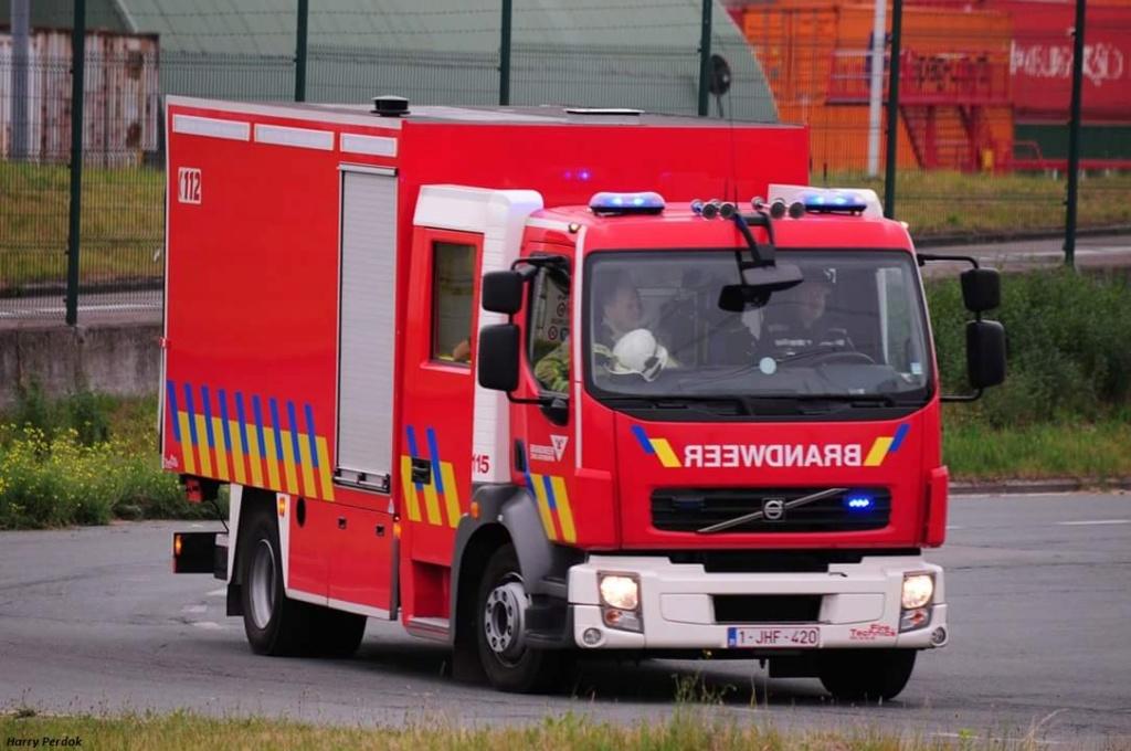 Pompiers Belge Smart834