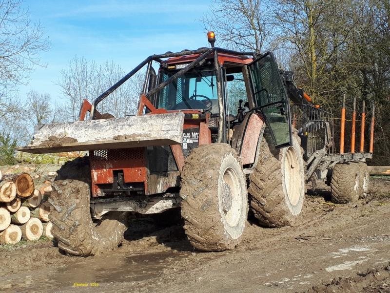 Tracteurs agricoles équipées forestier Smart863