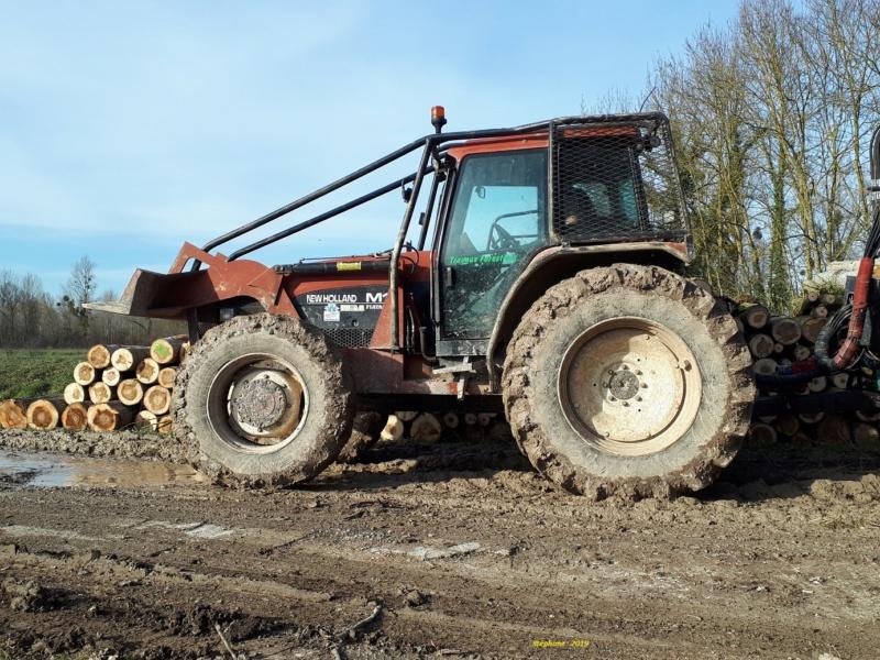 Tracteurs agricoles équipées forestier Smart864