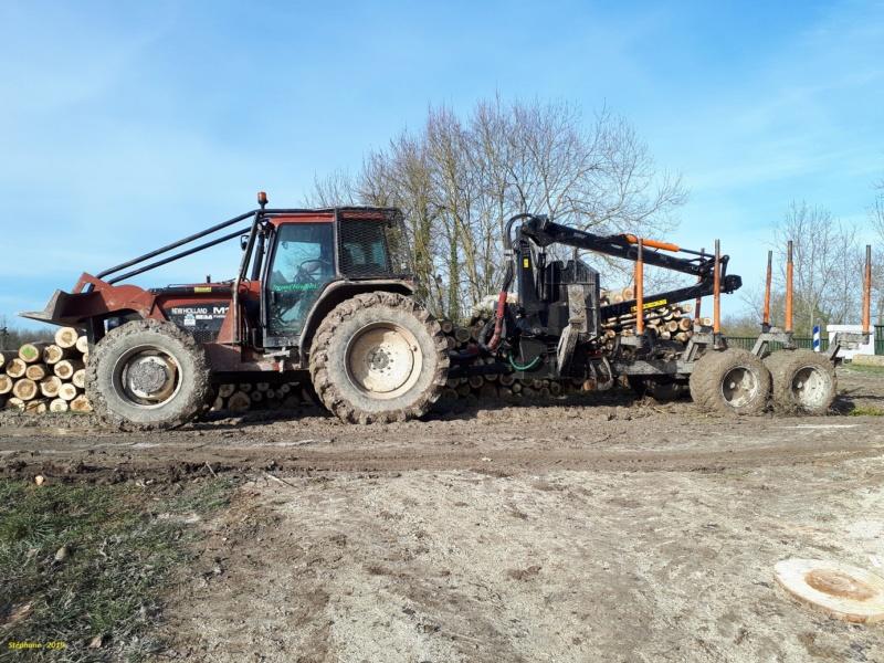 Tracteurs agricoles équipées forestier Smart865