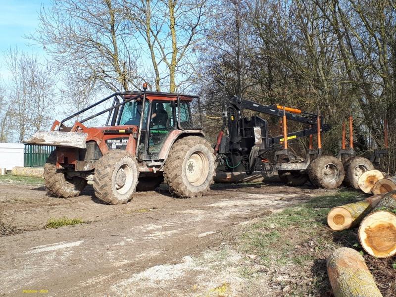 Tracteurs agricoles équipées forestier Smart866