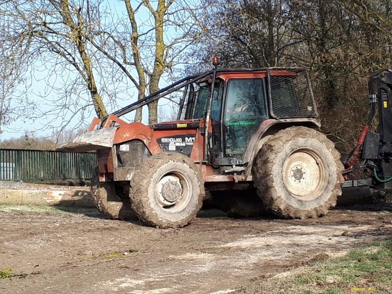 Tracteurs agricoles équipées forestier Smart867
