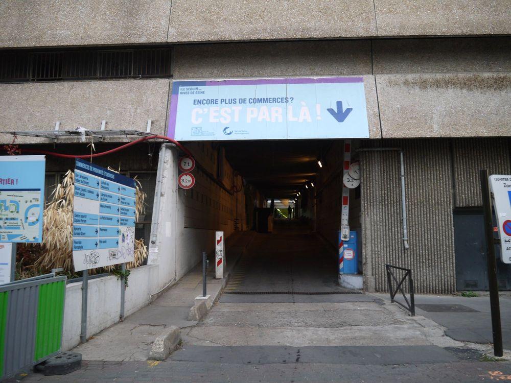 Rénovation du passage commercial du quartier du Pont de Sèvres 2018-012