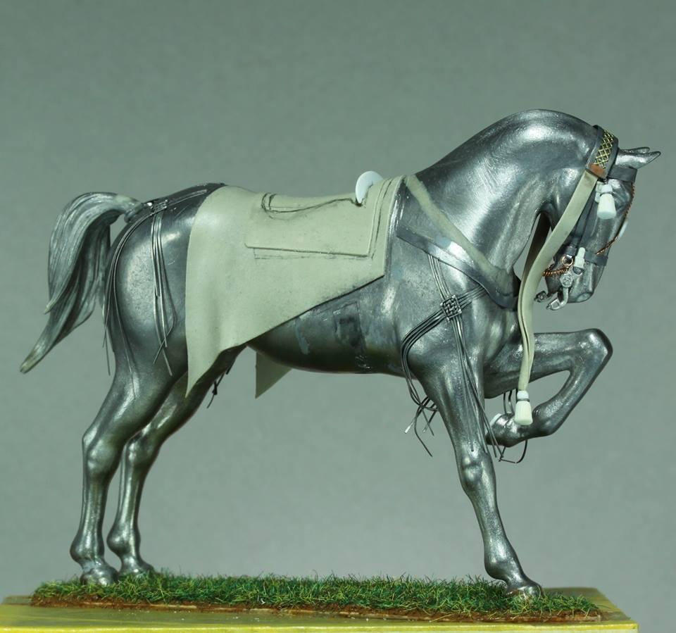 Timbalier des chasseurs à cheval de la Garde Impériale (tenue à la hussarde, 1810) 61d6c210