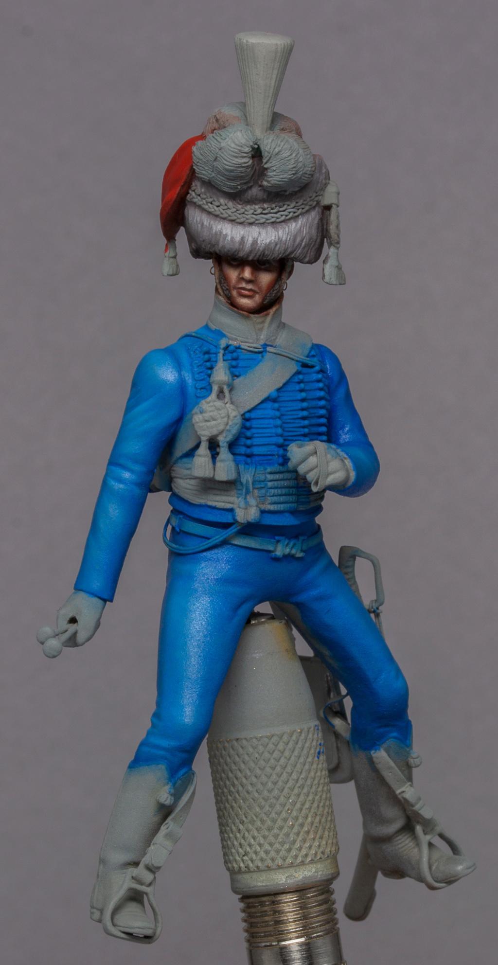 Timbalier des chasseurs à cheval de la Garde Impériale (tenue à la hussarde, 1810) 6ce5fc10