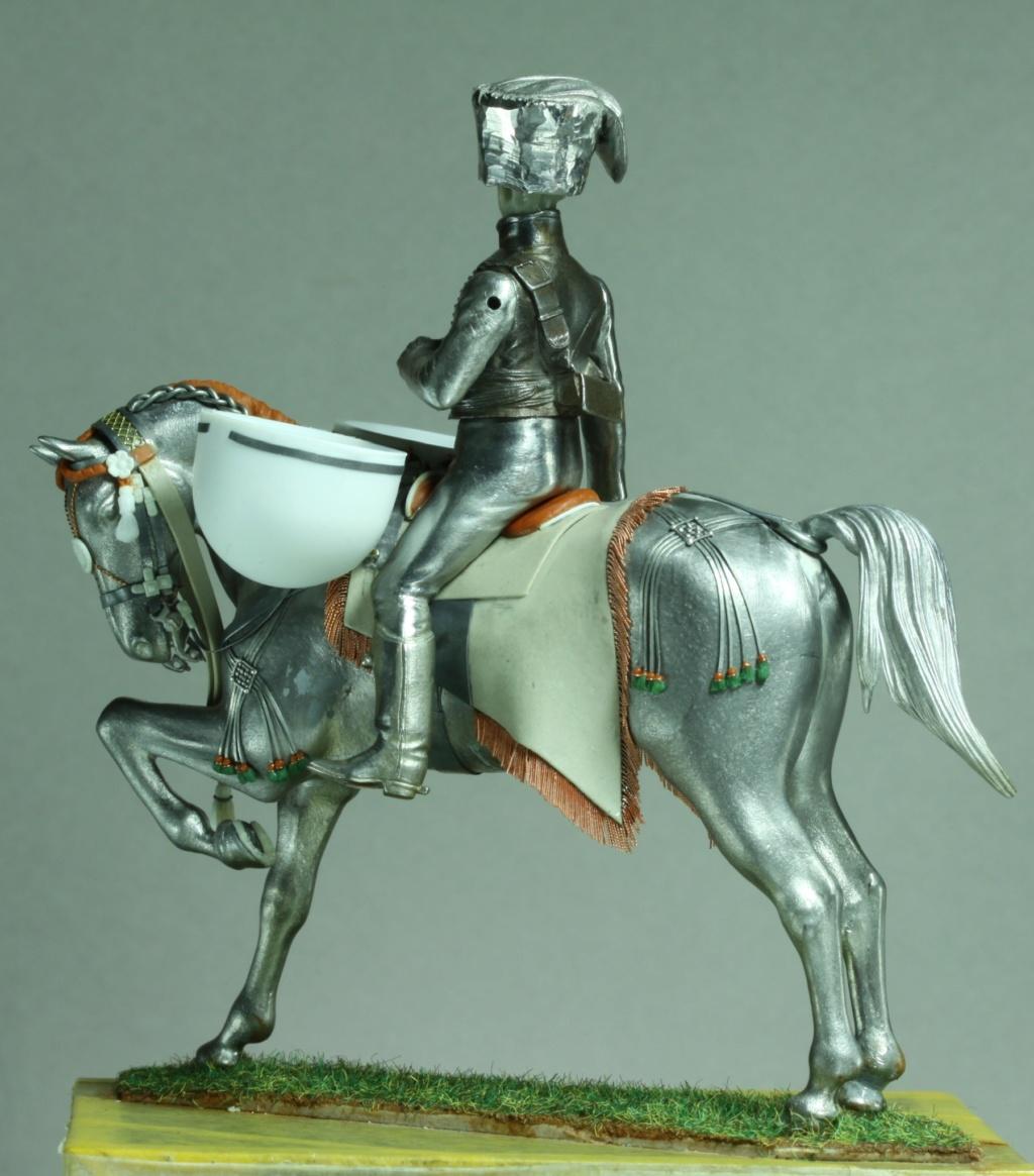 Timbalier des chasseurs à cheval de la Garde Impériale (tenue à la hussarde, 1810) 8e095e10