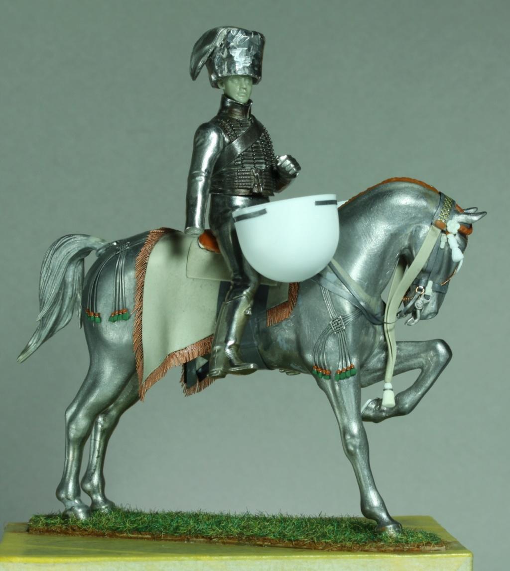 Timbalier des chasseurs à cheval de la Garde Impériale (tenue à la hussarde, 1810) 98a4d110