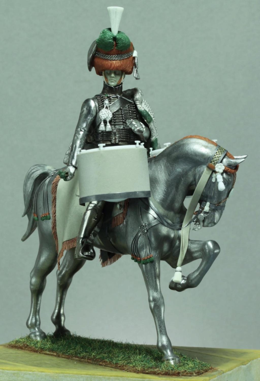 Timbalier des chasseurs à cheval de la Garde Impériale (tenue à la hussarde, 1810) B2fede10