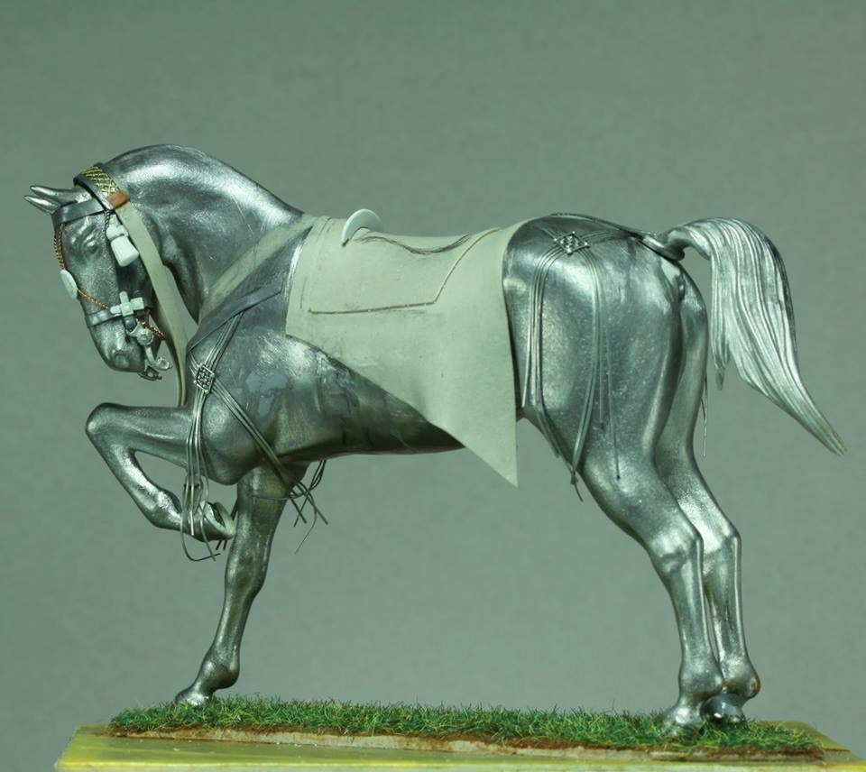 Timbalier des chasseurs à cheval de la Garde Impériale (tenue à la hussarde, 1810) Da564310