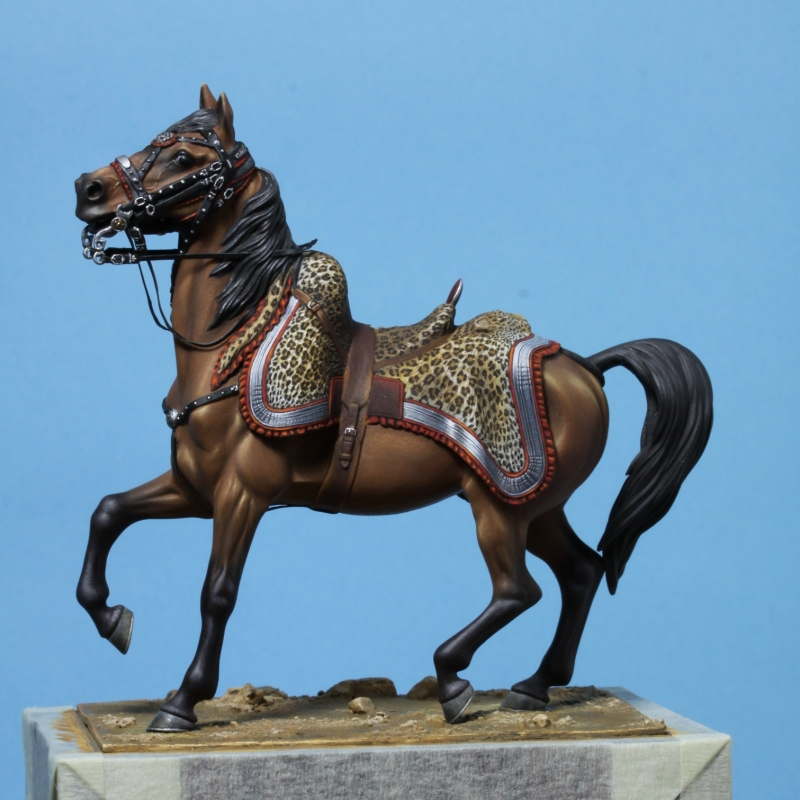 Colonel de hussards 1809, Metal Modeles Eea3e310