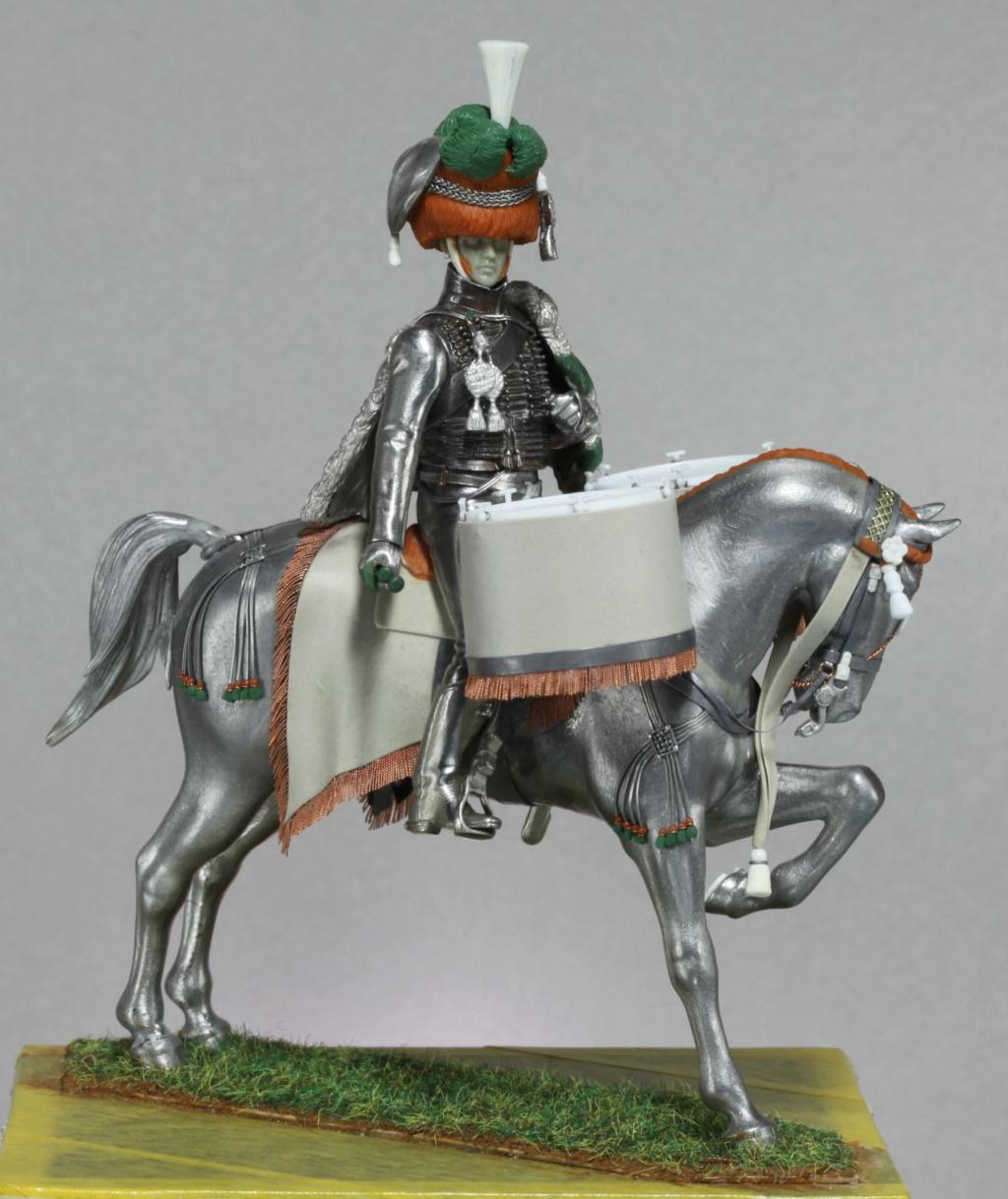 Timbalier des chasseurs à cheval de la Garde Impériale (tenue à la hussarde, 1810) Img_2413