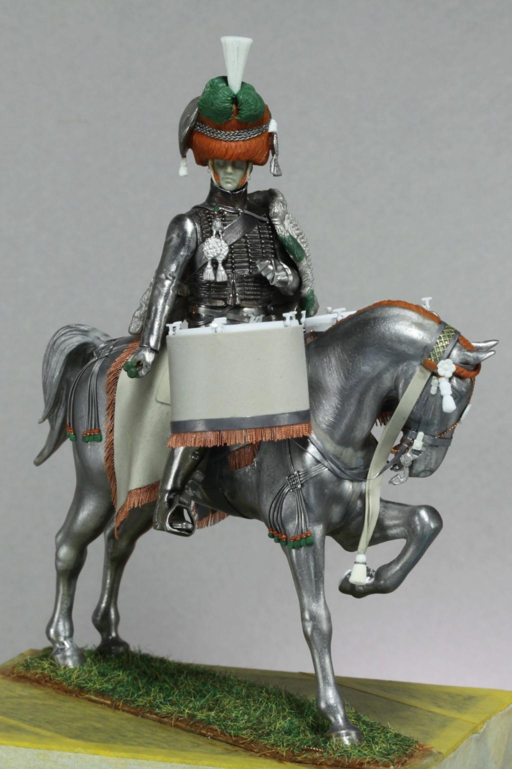 Timbalier des chasseurs à cheval de la Garde Impériale (tenue à la hussarde, 1810) Img_2414